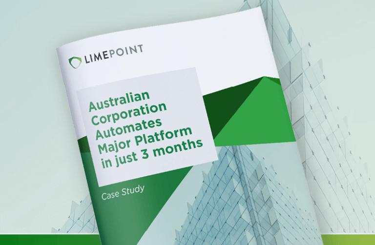 Australian Corporation Automates Major Platform in just 3 months