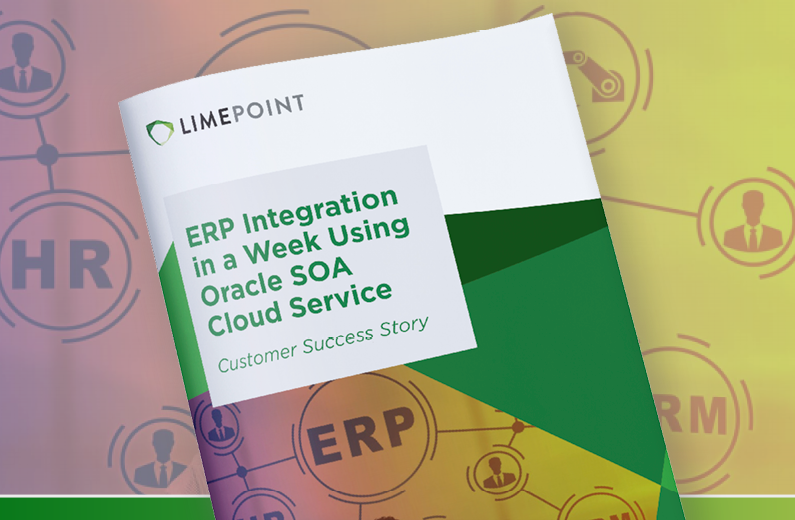 ERP Integration in a week using Oracle SOA Cloud Service