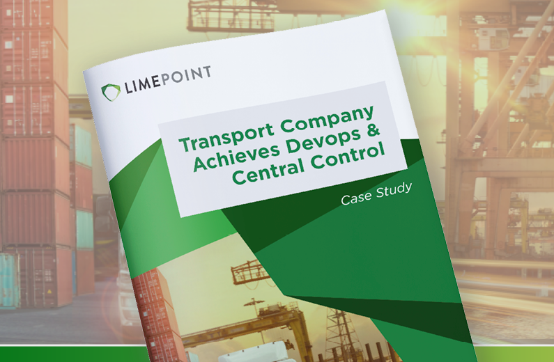 Transport Company Achieves Devops & Central Control