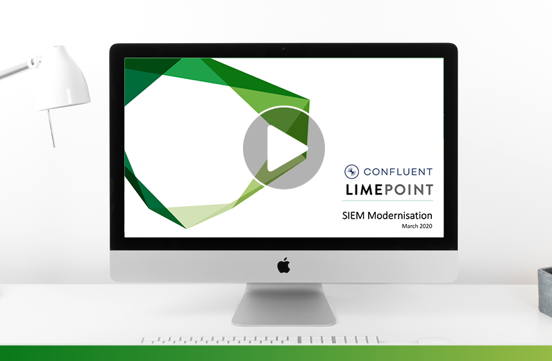 Supercharge your SIEM Solution with Confluent and LimePoint Webinar